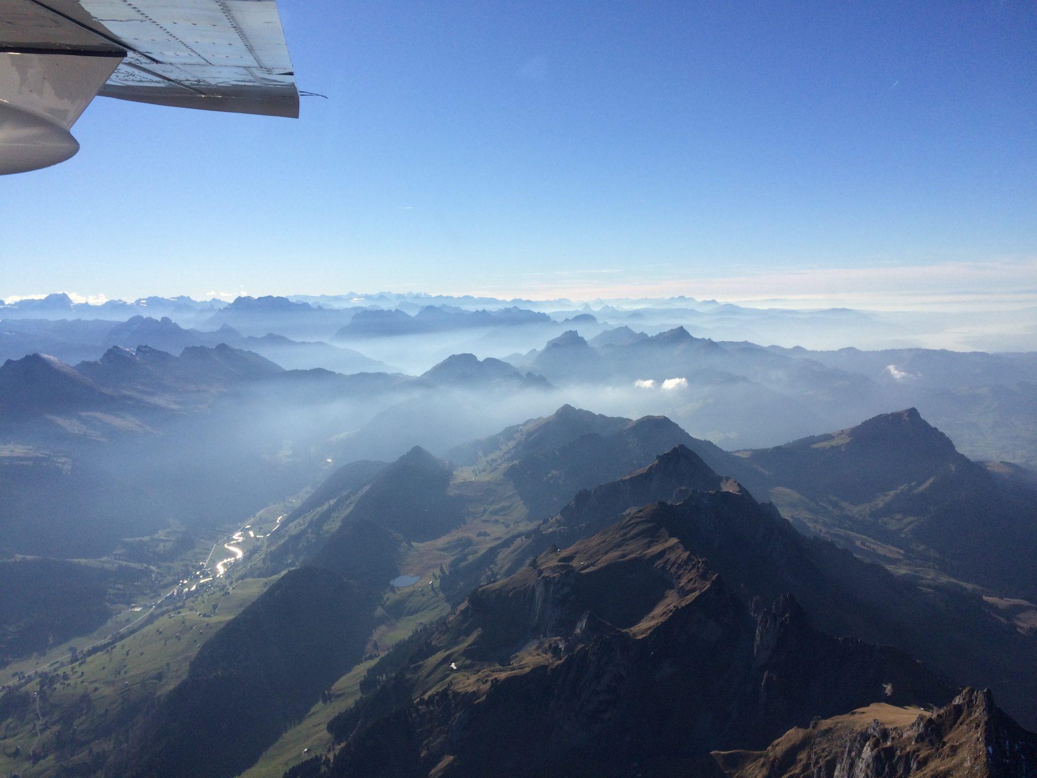 Matterhorn Rundflug - Auf dem Weg
