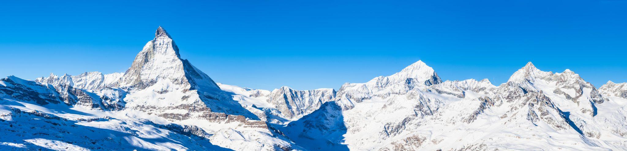 Matterhorn Rundflug Aussicht