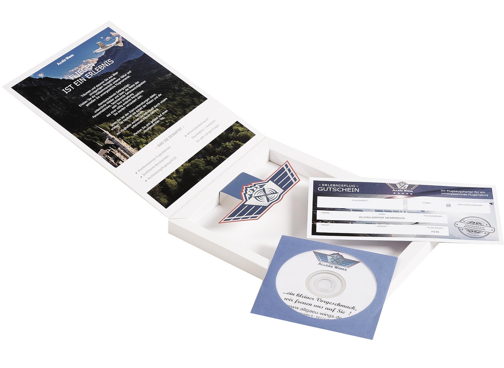 Geschenk Erlebnisbox Alpenrundflug