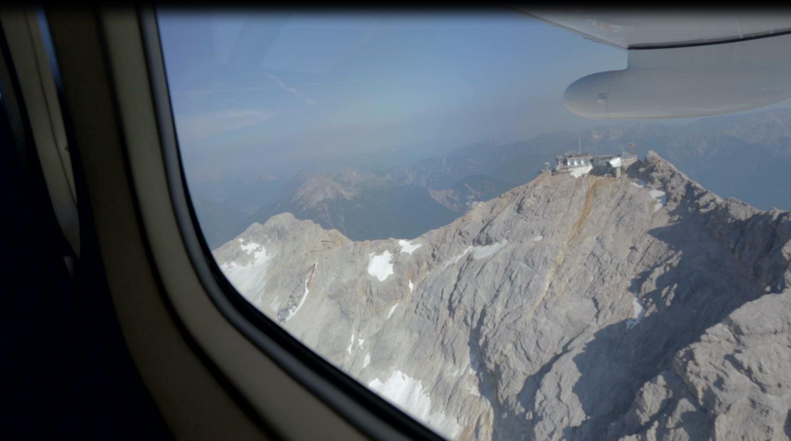 Zugspitze Rundflug - Der Gipfel